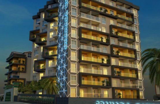 Luxury 1+1 Flats in Alanya Centrum, Turkey