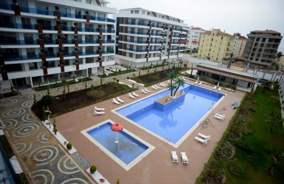 Deluxe Duplex 2+1 Seaviews Beach Apartments in Alanya