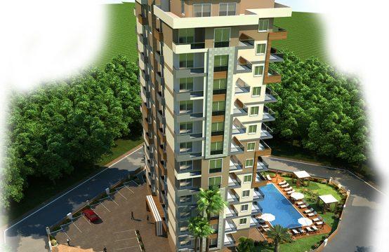 Penthouse 3+1 New Project in Mahmutlar, Turkey