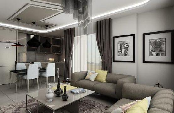 3+1 Duplex Penthouse in New Project, Mahmutlar